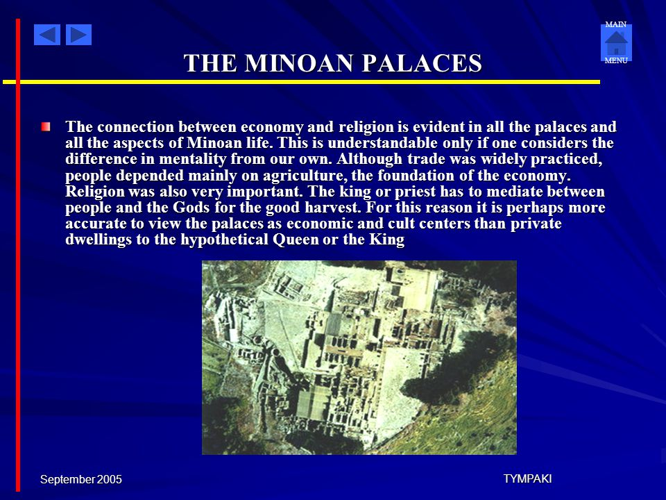 THE MINOAN PALACES