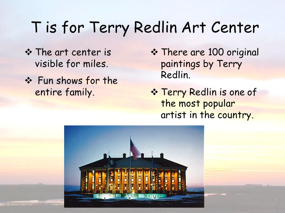 T is for Terry Redlin Art Center
