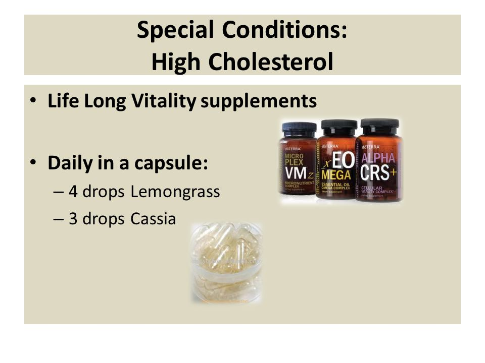 Special Conditions: High Cholesterol