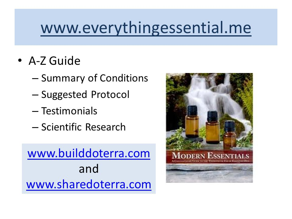 www.builddoterra.com and