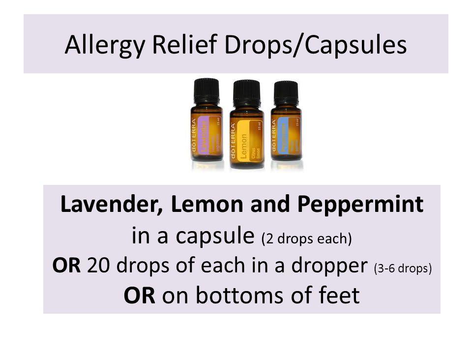 Allergy Relief Drops/Capsules
