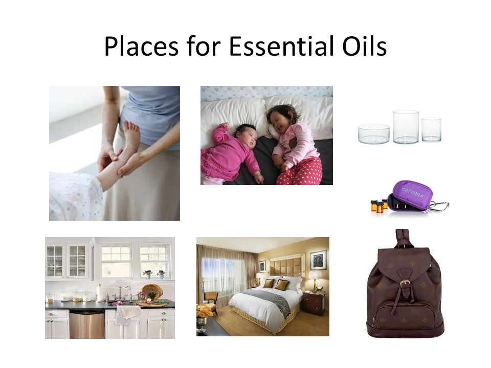 Places for Essential Oils