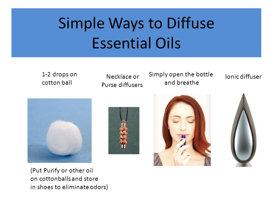 Simple Ways to Diffuse Essential Oils