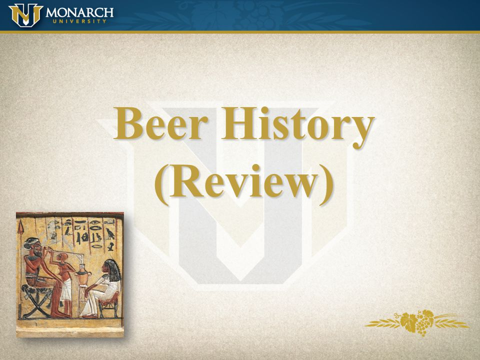 Beer History (Review)