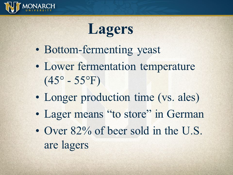 Lagers Bottom-fermenting yeast