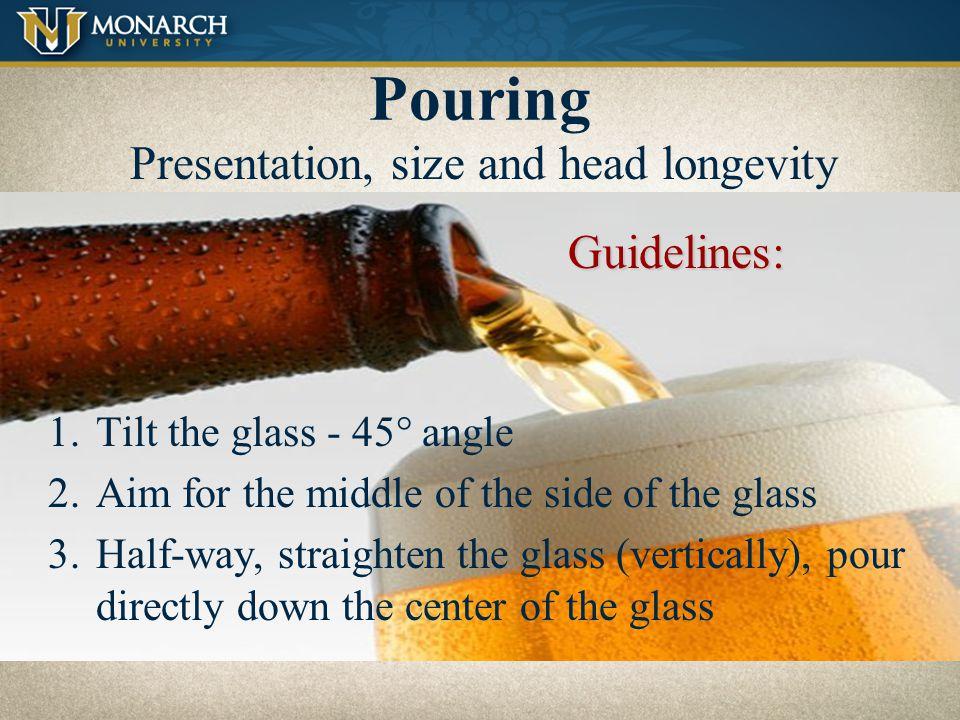 Presentation, size and head longevity
