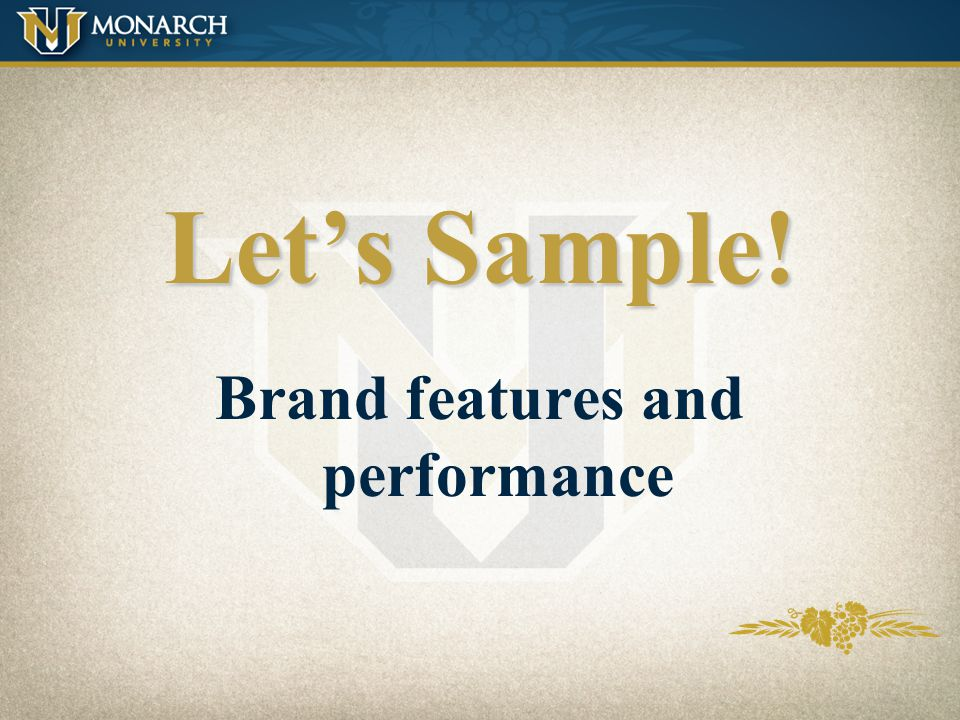 Brand features and performance
