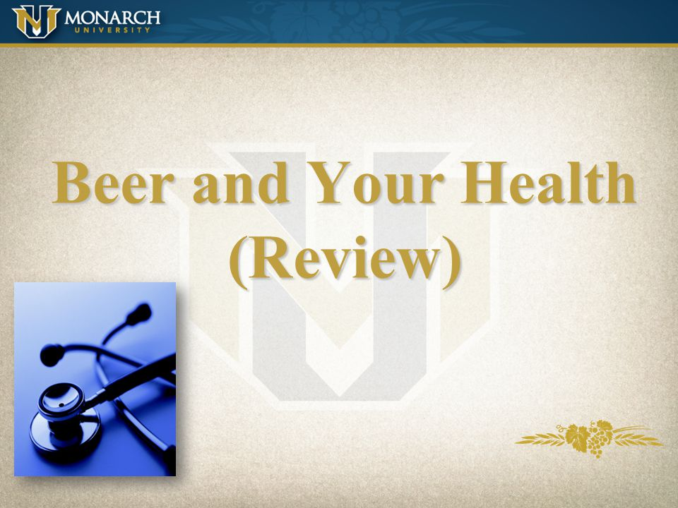 Beer and Your Health (Review)