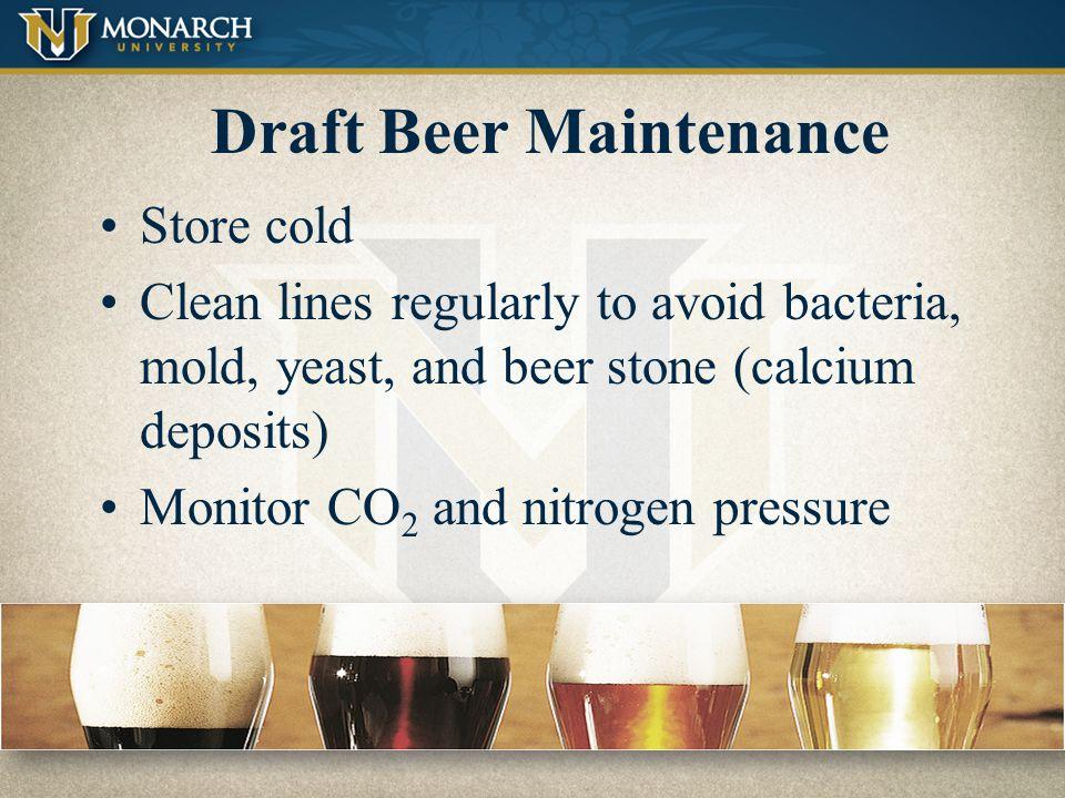 Draft Beer Maintenance