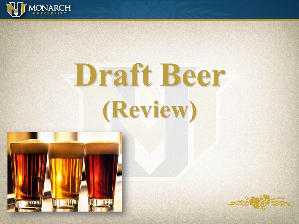 Draft Beer (Review)