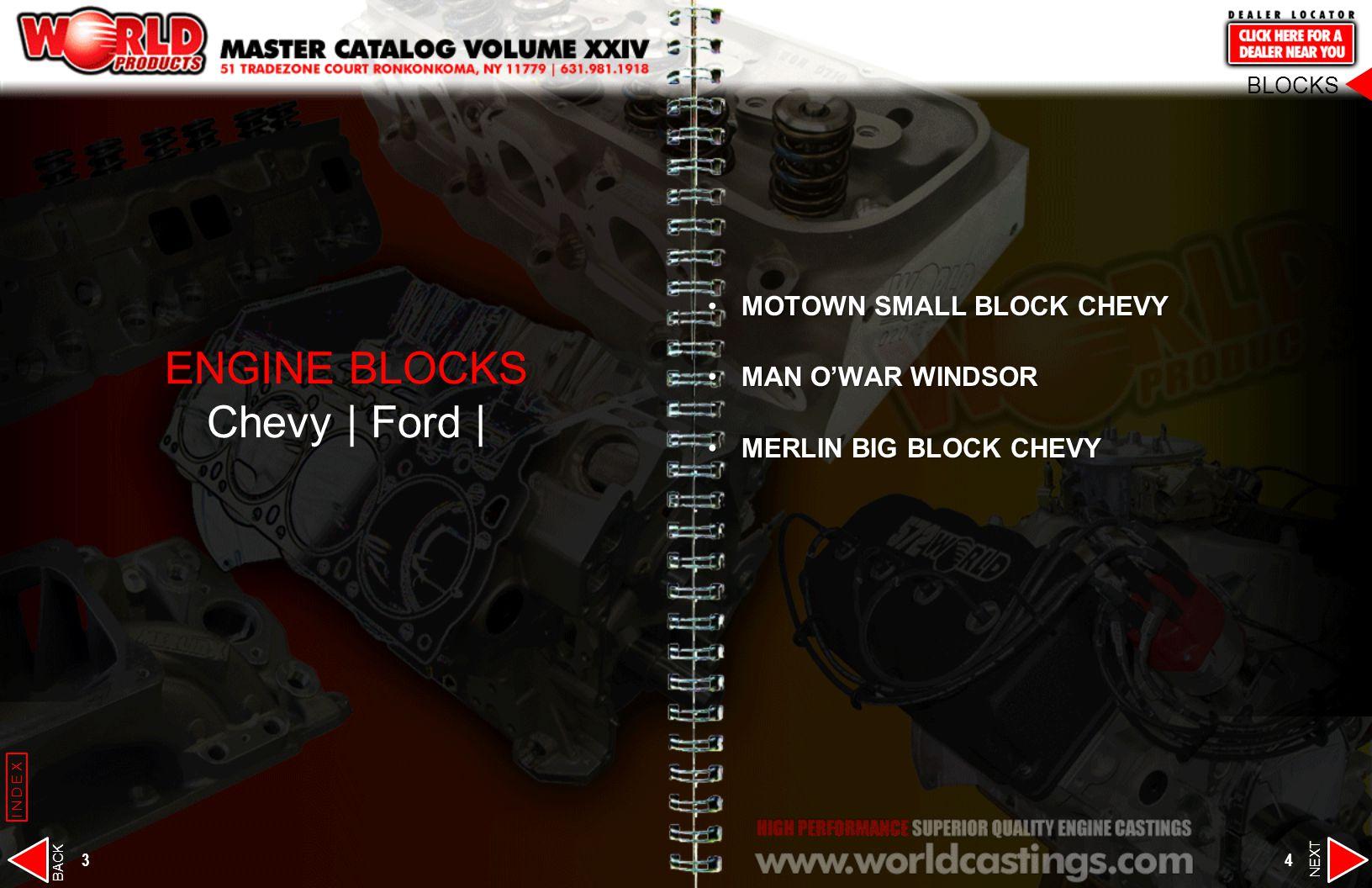 ENGINE BLOCKS Chevy | Ford |