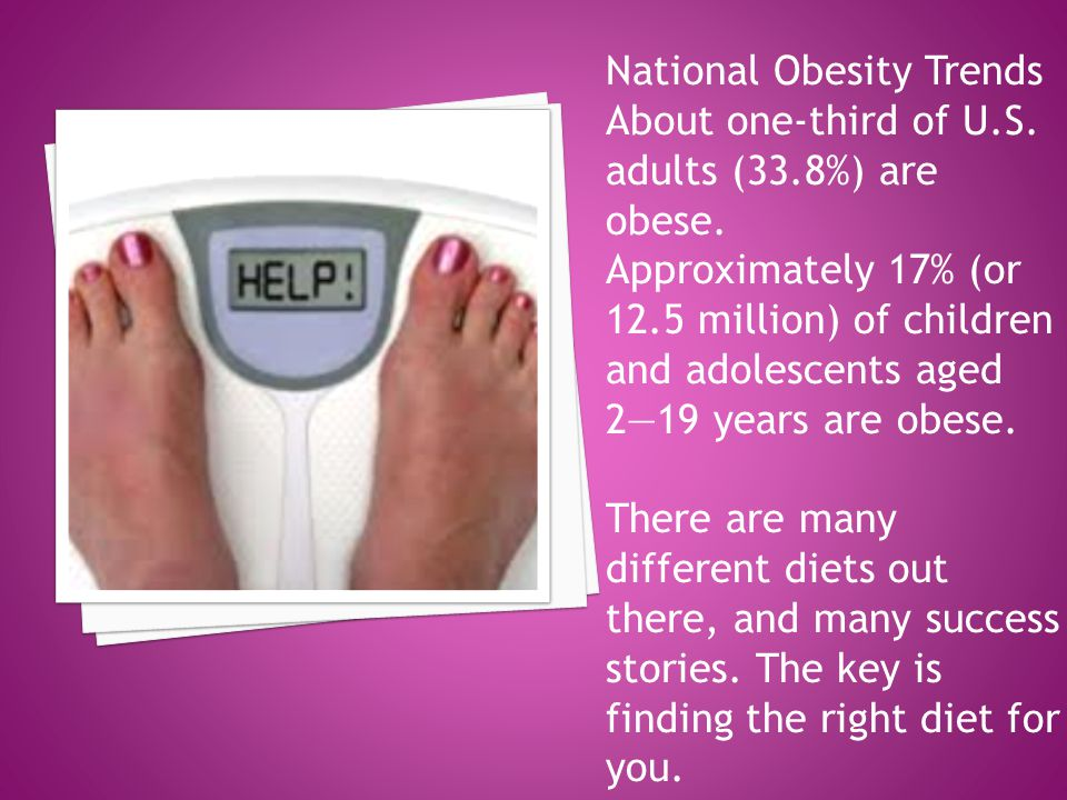 National Obesity Trends