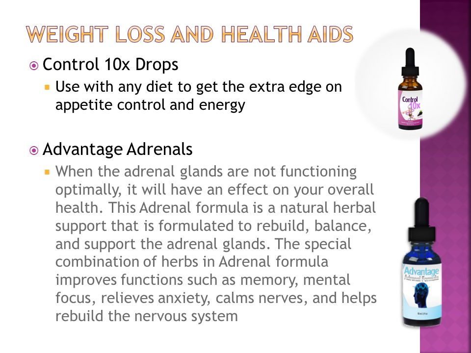 weight loss and health aids