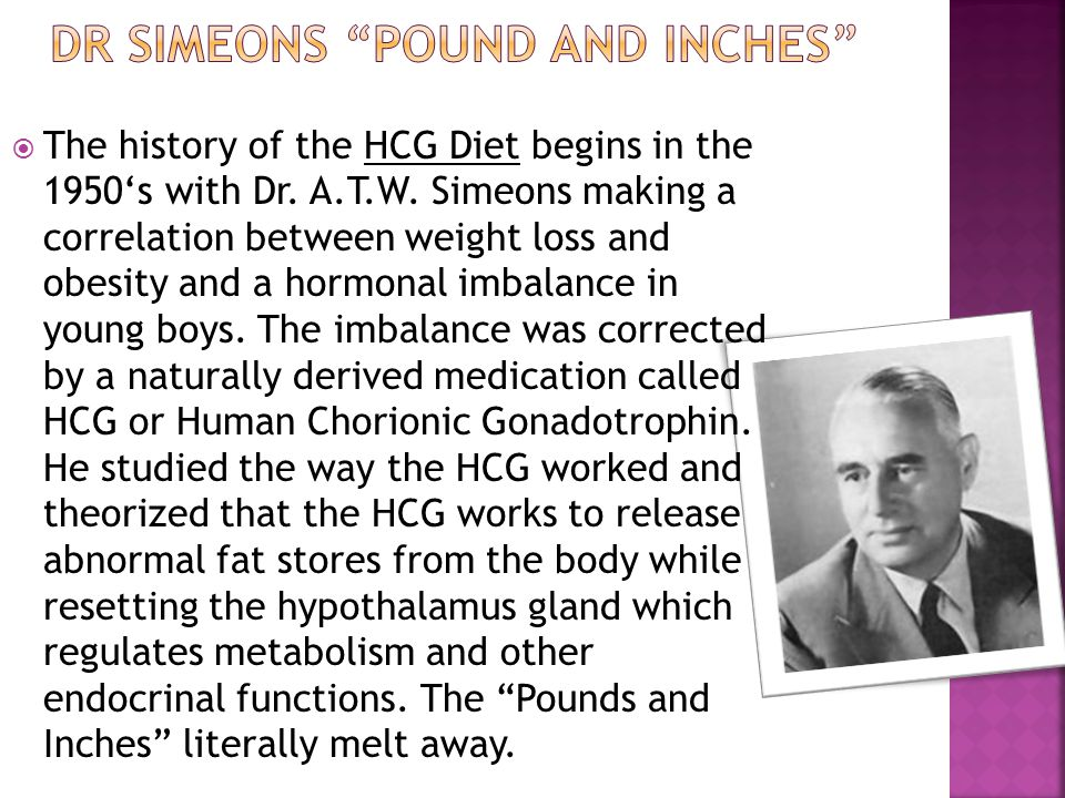 Dr simeons pound and inches