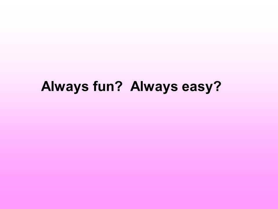 Always fun Always easy ANNEMARIE