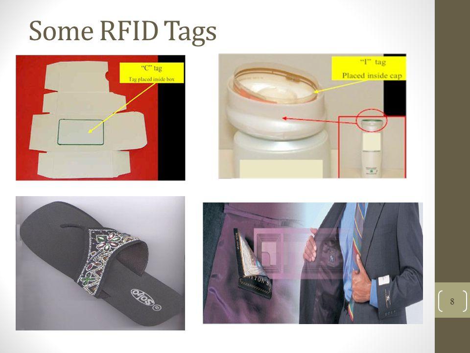 Some RFID Tags