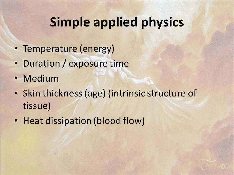 Simple applied physics