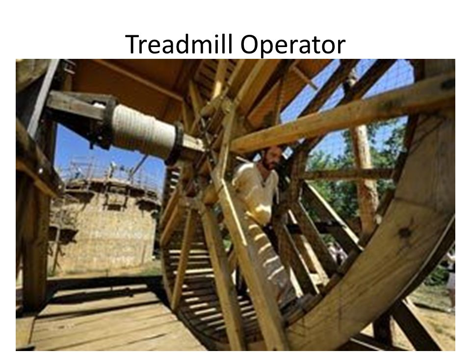 Treadmill Operator