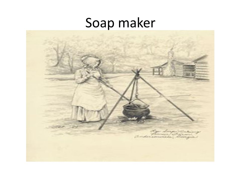 Soap maker