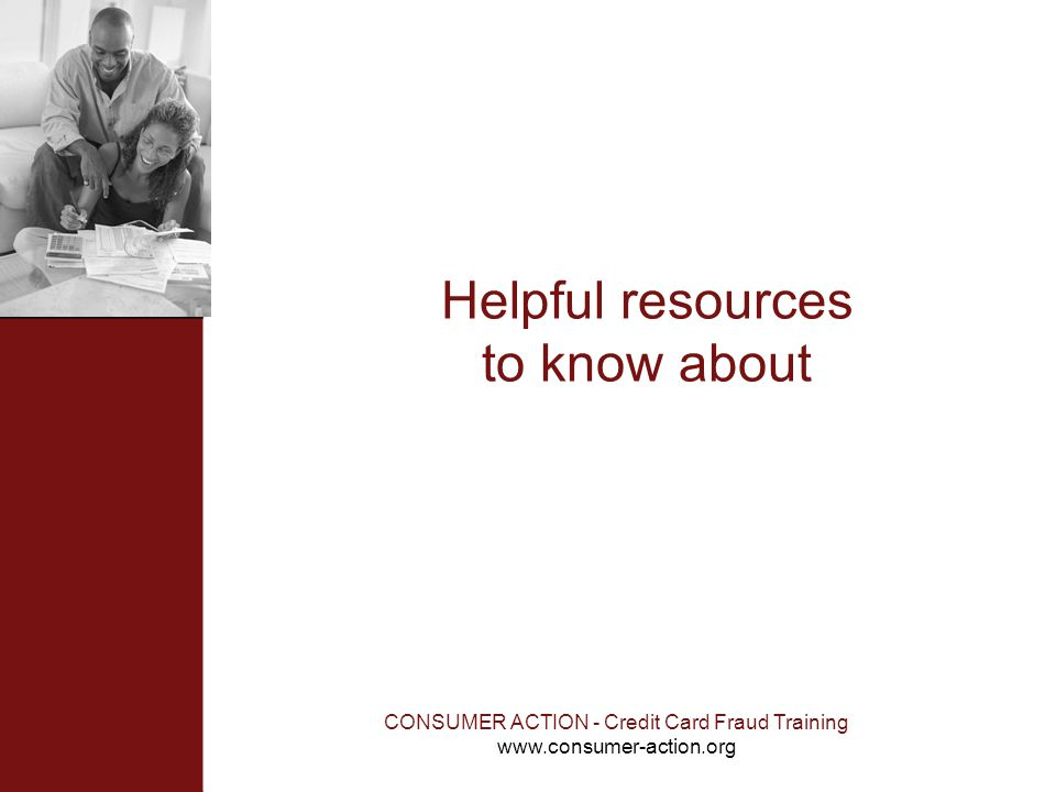 Helpful resources to know about