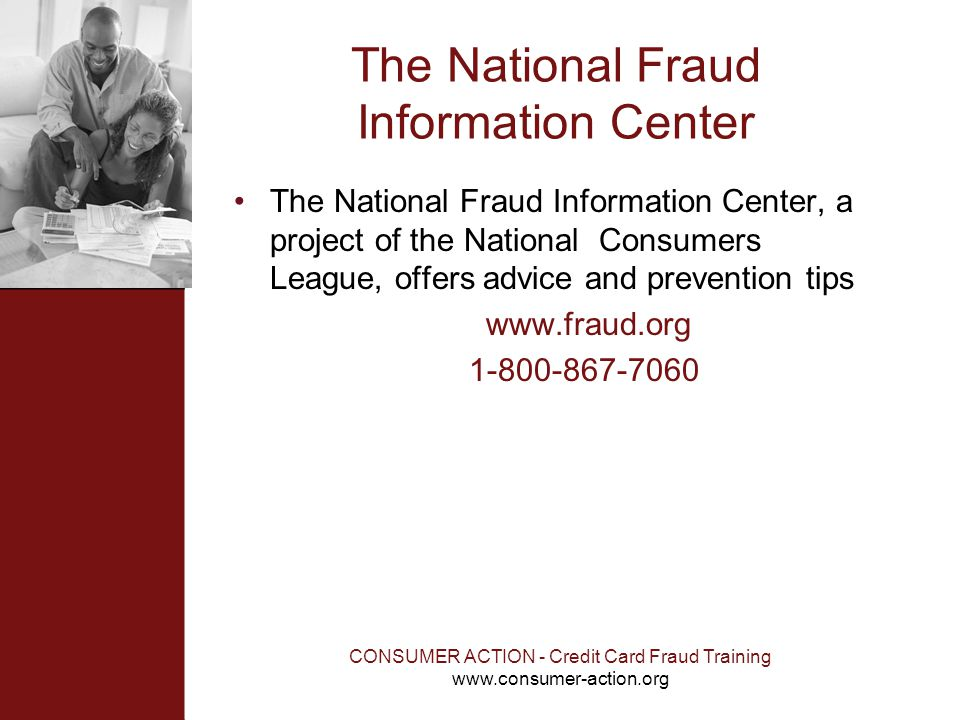 The National Fraud Information Center