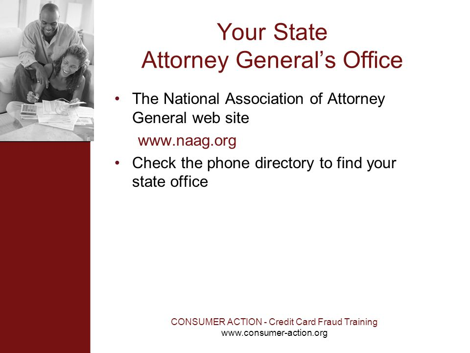 Your State Attorney General's Office
