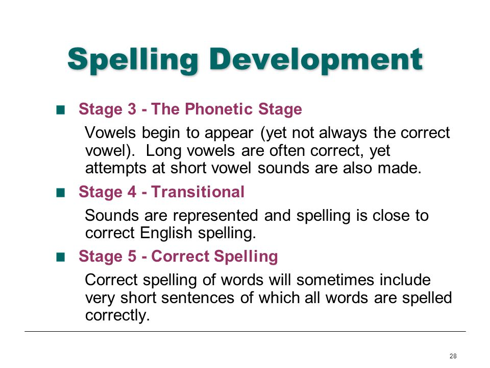 The Philosophy of Spelling You See
