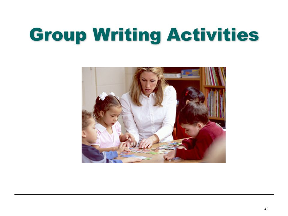 Group Writing Activities