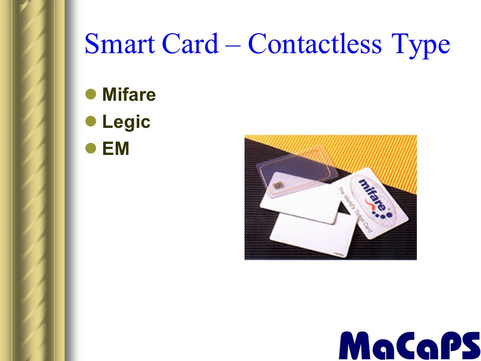 Smart Card – Contactless Type