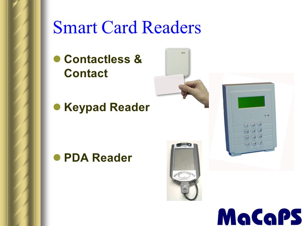 Smart Card Readers Contactless & Contact Keypad Reader PDA Reader