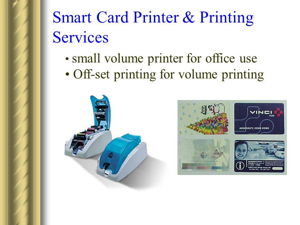 Smart Card Printer & Printing Services