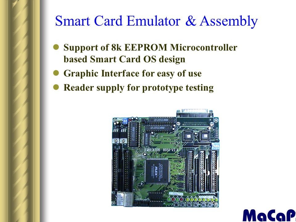 Smart Card Emulator & Assembly