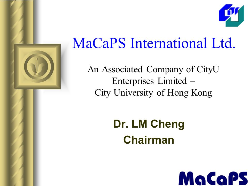 MaCaPS International Ltd