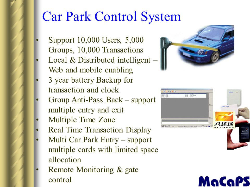 Car Park Control System