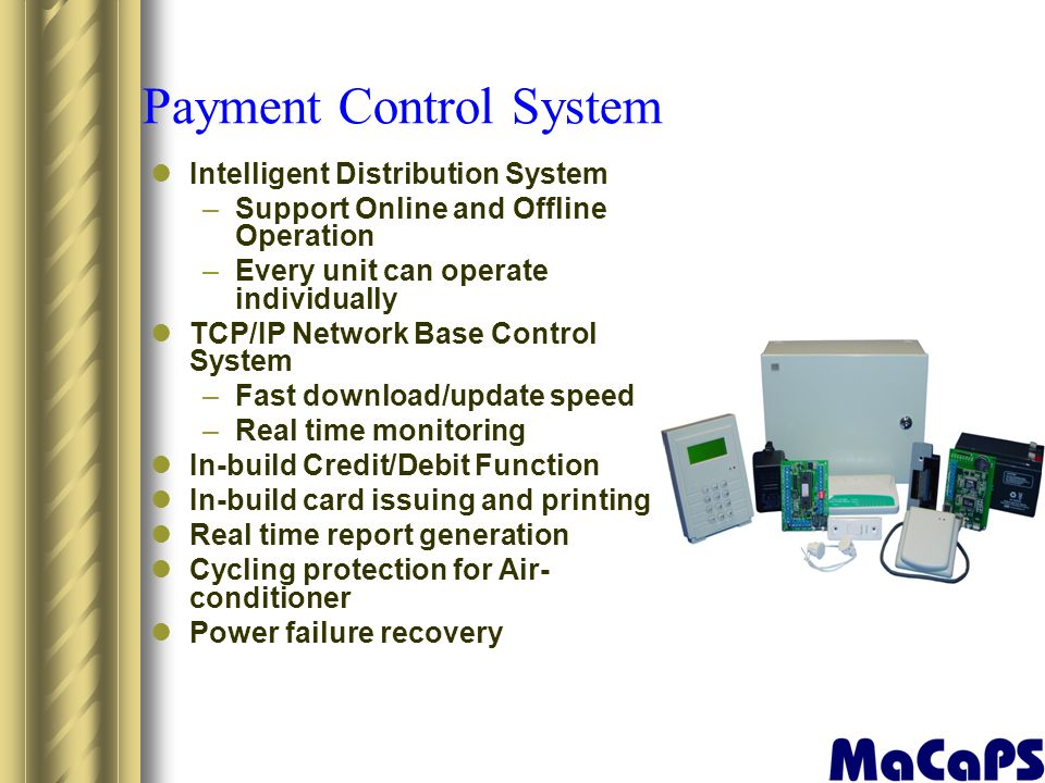 Payment Control System