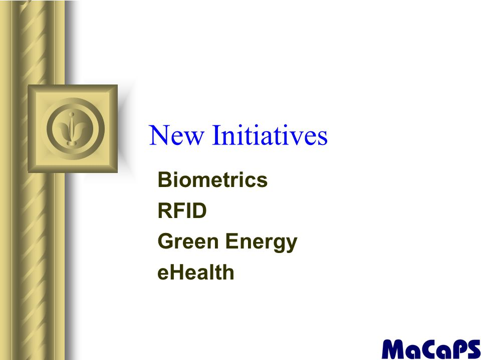 Biometrics RFID Green Energy eHealth