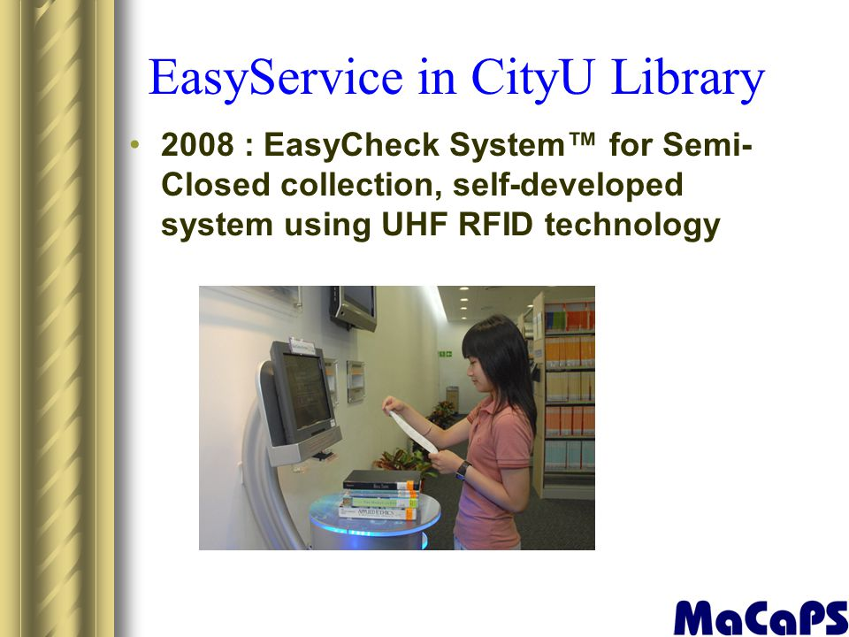 EasyService in CityU Library