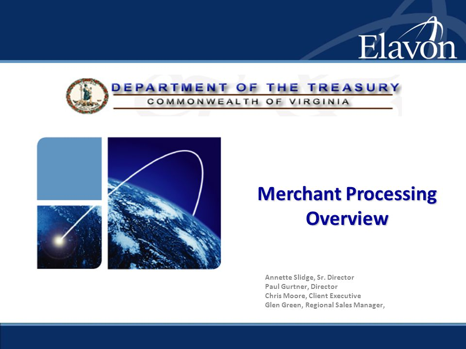 Merchant Processing Overview