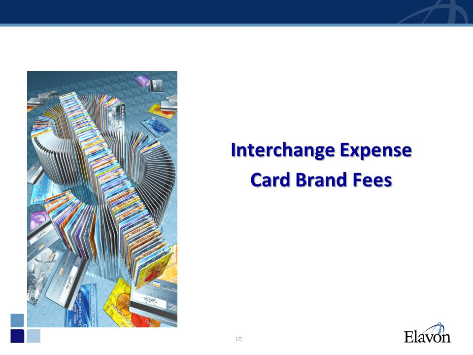 Interchange Expense Card Brand Fees