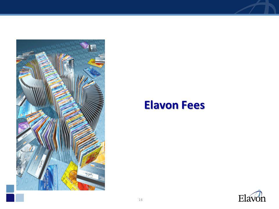 Elavon Fees