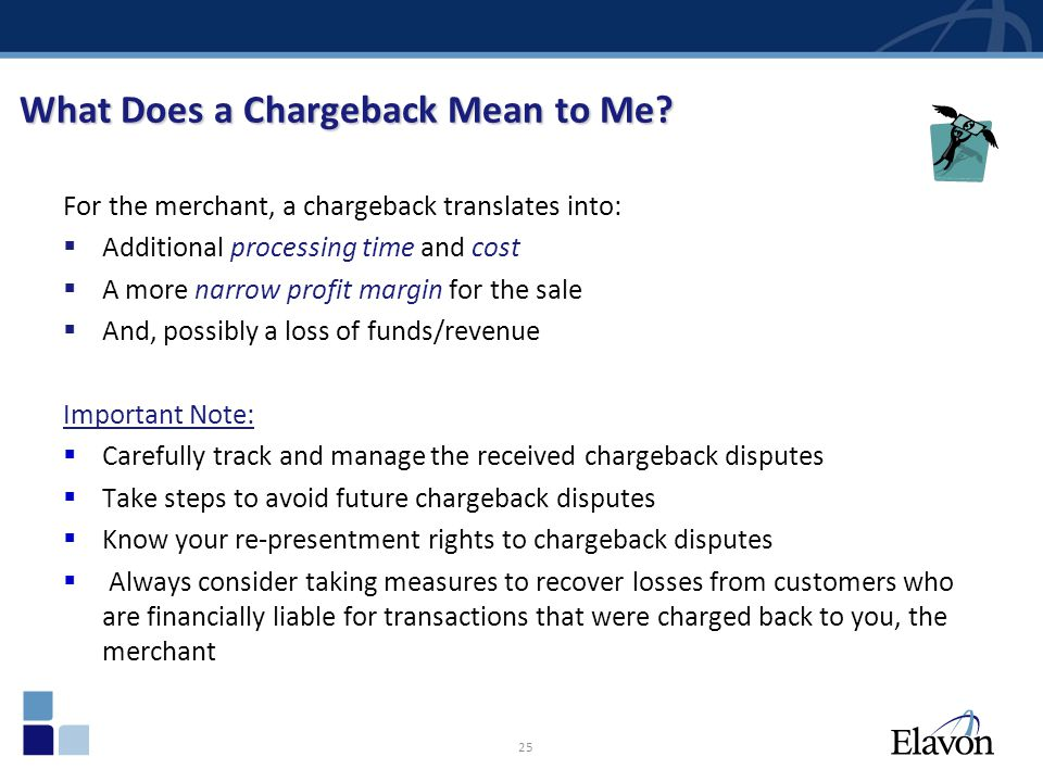 What Does a Chargeback Mean to Me