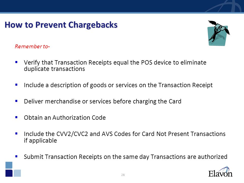 How to Prevent Chargebacks