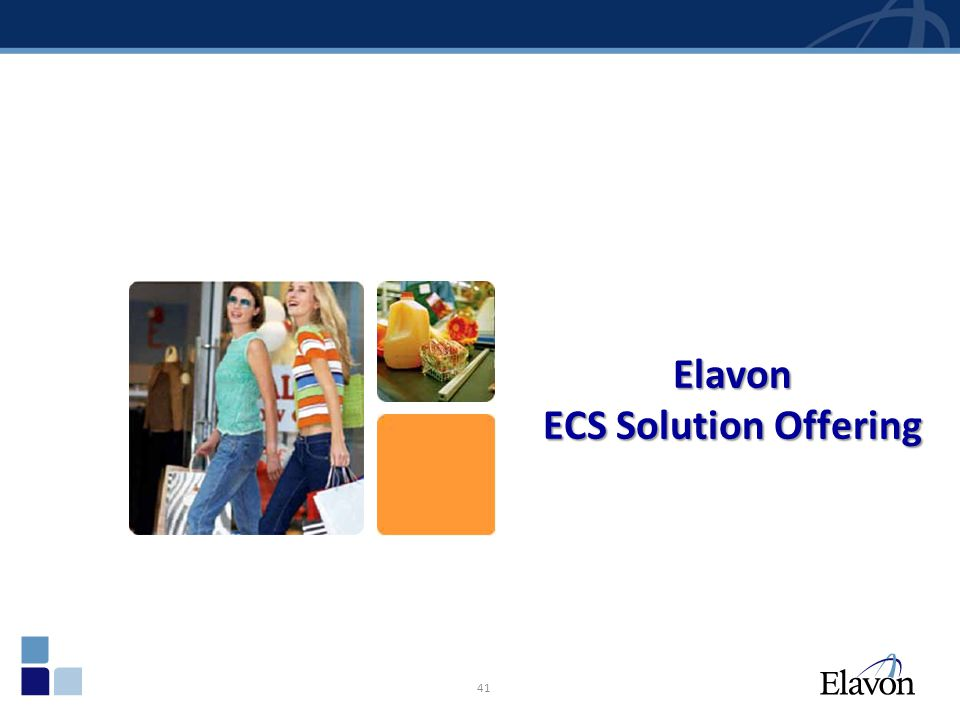 Elavon ECS Solution Offering