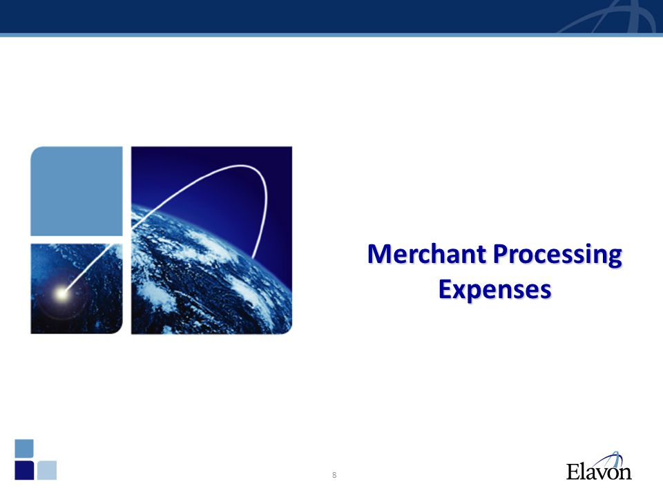 Merchant Processing Expenses