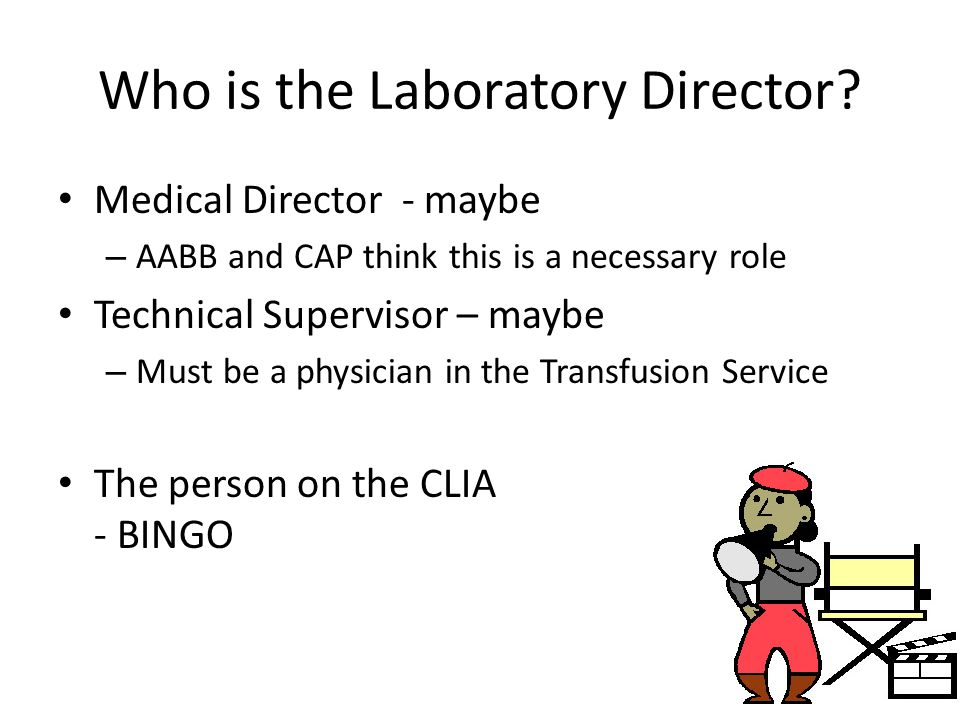 Who is the Laboratory Director