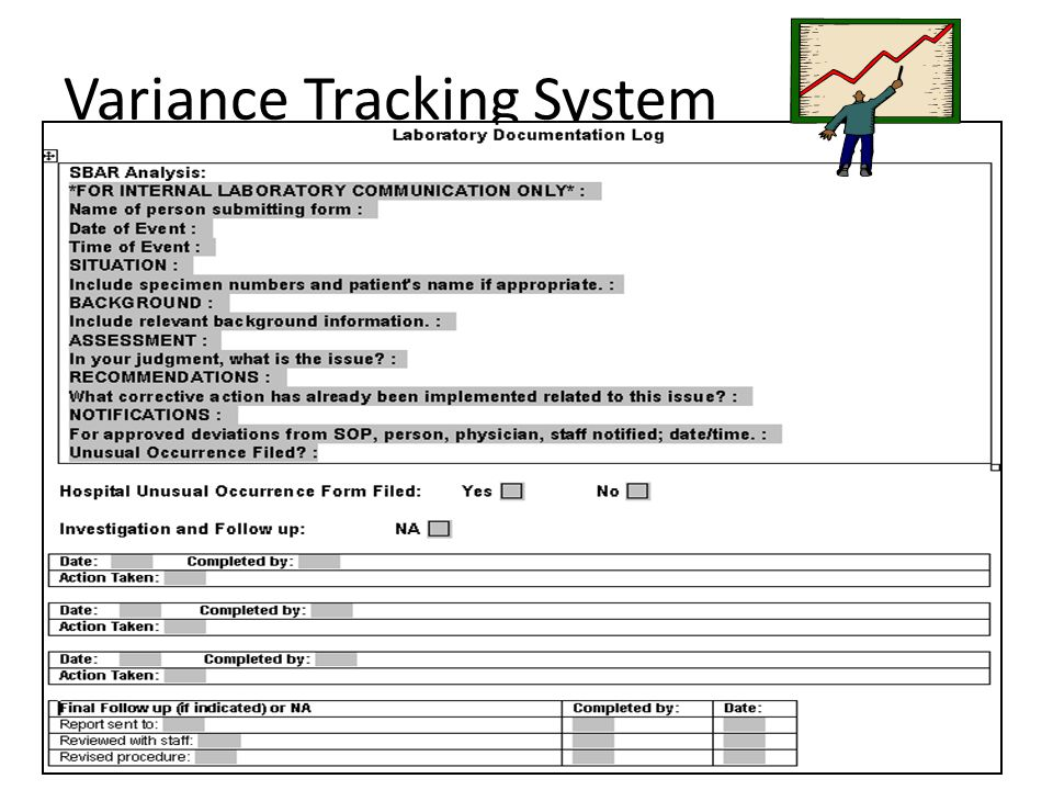 Variance Tracking System