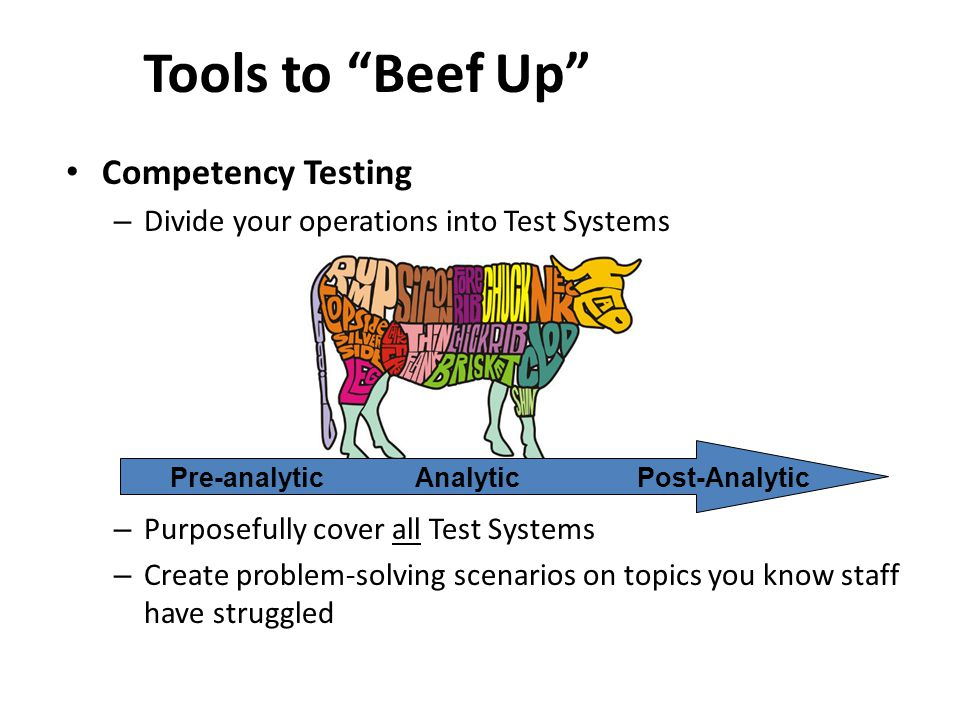 Tools to Beef Up Competency Testing