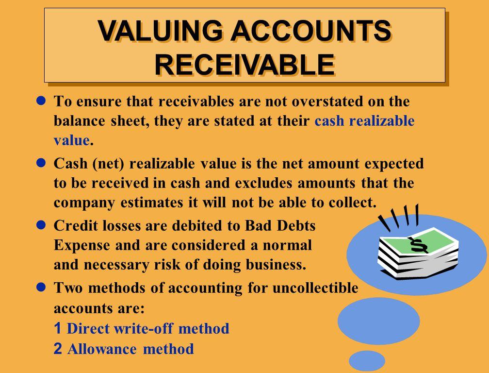 VALUING ACCOUNTS RECEIVABLE
