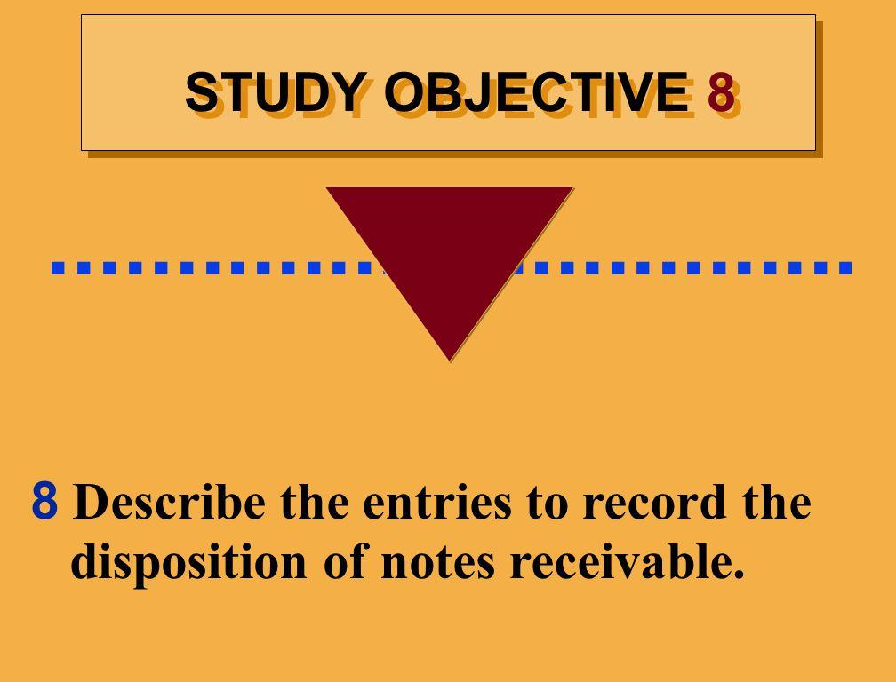 ................................ STUDY OBJECTIVE 8.