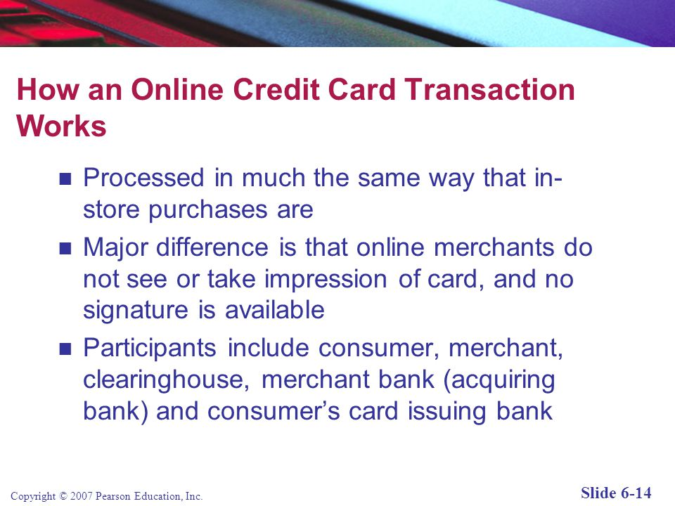 E commerce business technology society kenneth c for How do business credit cards work